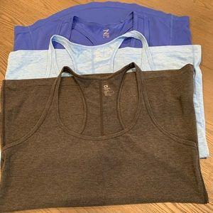 Bundle of 3 workout shirts